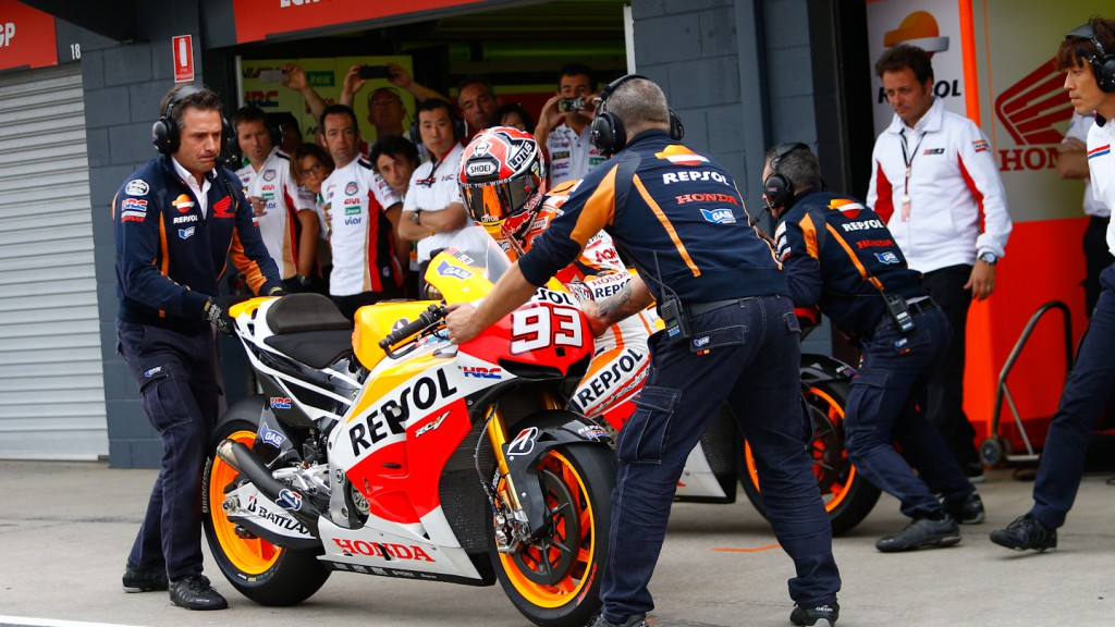 Marc Marquez, Repsol Honda Team, Phillip Island RAC