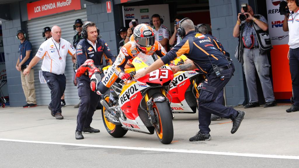 Marc Marquez, Repsol Honda Team, Phillip Island WUP