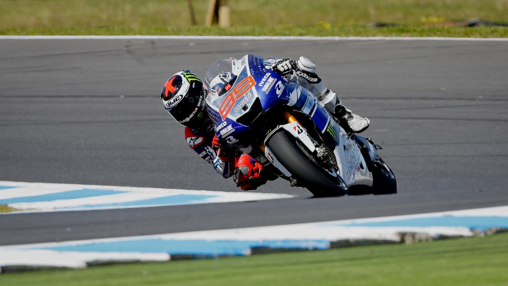 Jorge Lorenzo, Yamaha Factory Racing, Phillip Island RAC