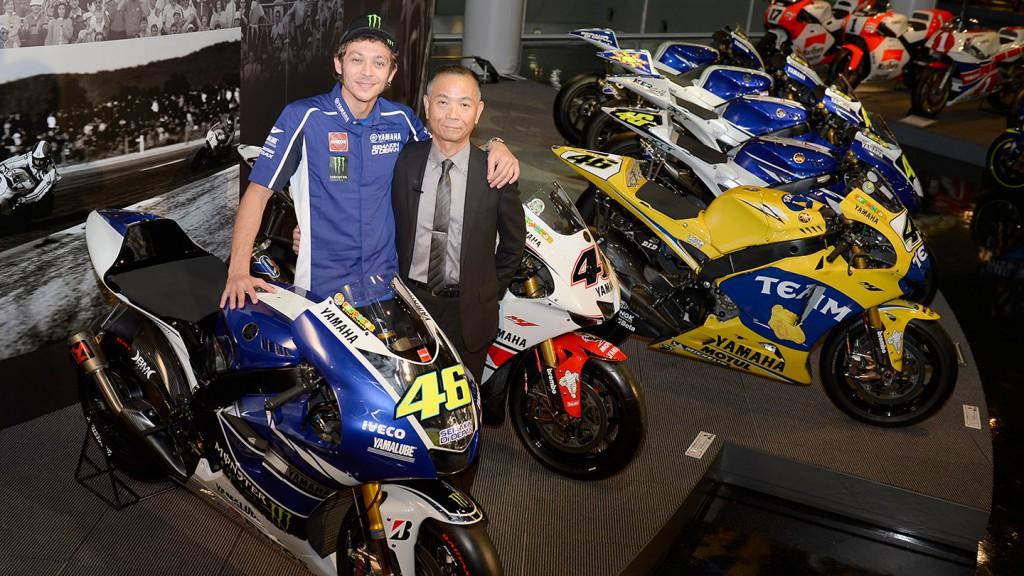 Valentino Rossi, Masao Furusawa, Yamaha MotoGP Special Night © Gigi Soldano / Milagro