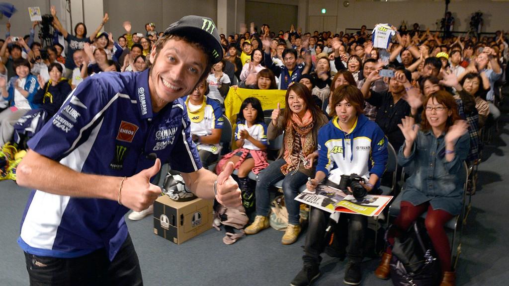 Valentino Rossi, Yamaha MotoGP Special Night © Gigi Soldano / Milagro