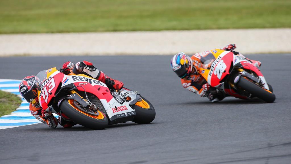 Marquez, Pedrosa, Repsol Honda Team