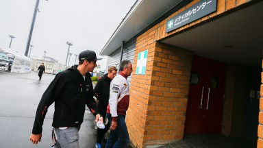 Marc VDS Racing Team's Scott Redding, Twin Ring Motegi Medical Centre
