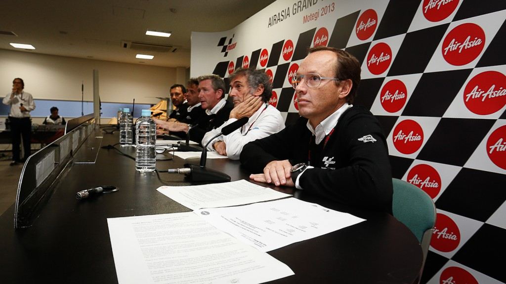 Race Direction Press Conference, Motegi