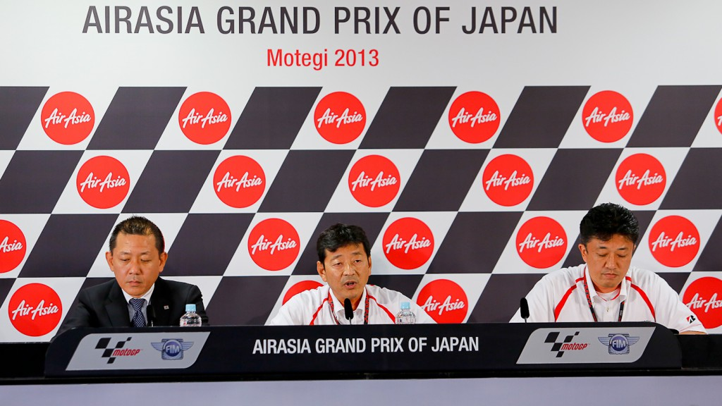 Bridgestone Press Conference, Motegi