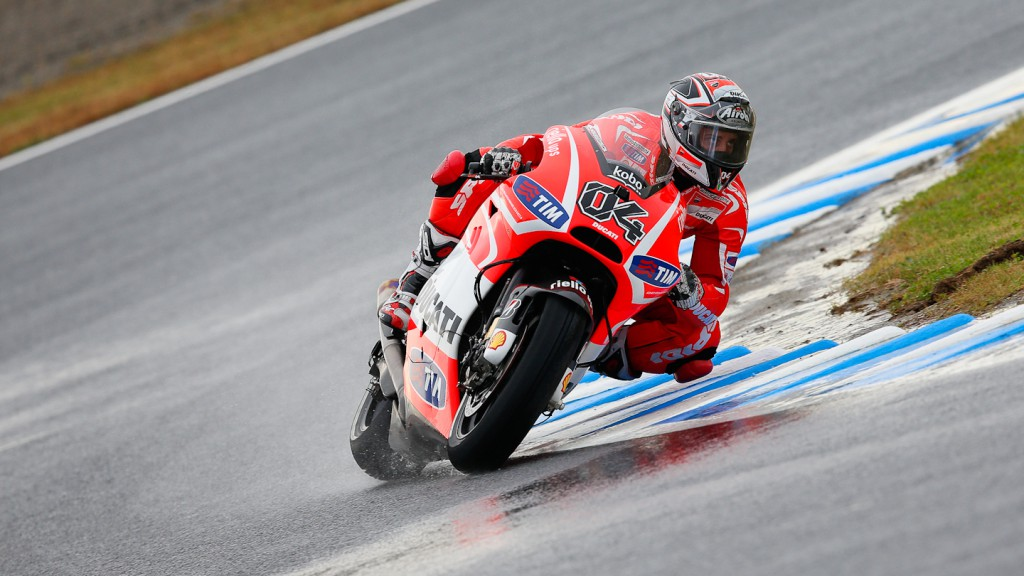 Andrea Dovizioso, Ducati Team, Motegi QP