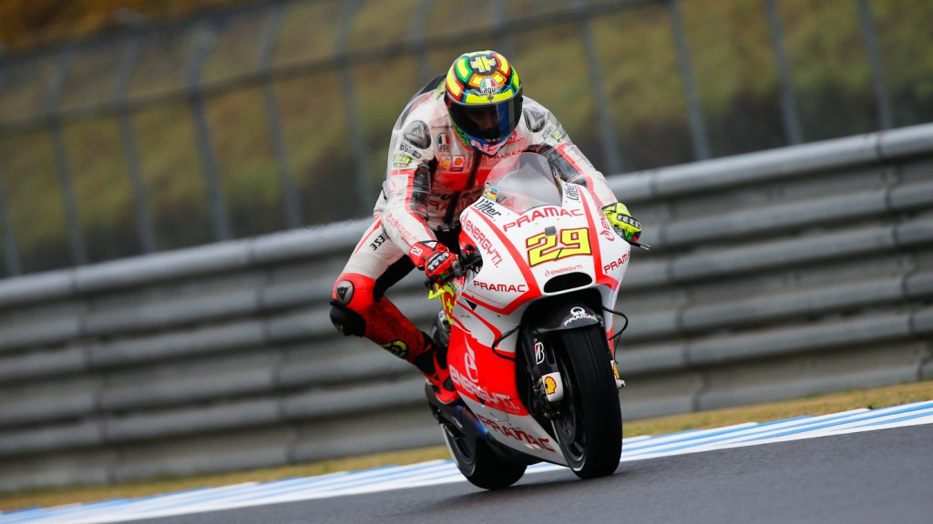 Andrea Iannone, Pramac Racing Team, Motegi QP