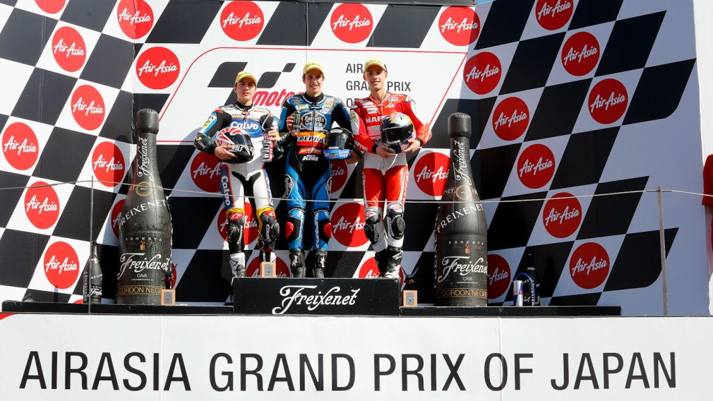 Viñales, Marquez, Folger, Team Calvo, Estrella Galicia 0,0, Mapfre Aspar Team Moto3, Motegi RAC