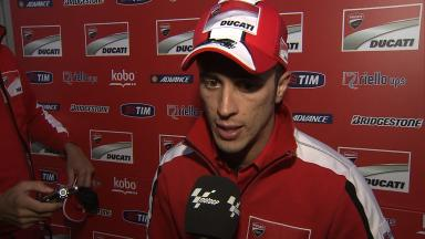 Dovizioso: 'Quite consistent but too slow'
