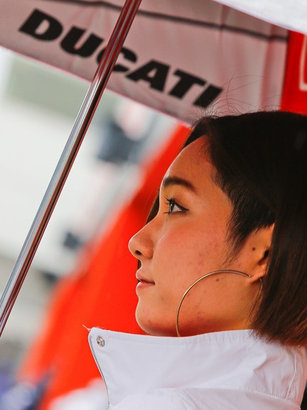 AirAsia Grand Prix of Japan Paddock Girl