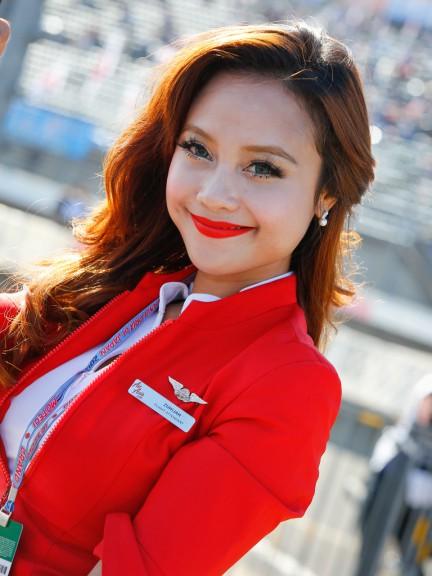 AirAsia Grand Prix of Japan Paddock Girl