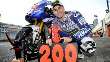 Yamaha 200 Premier Class Grand Prix Wins