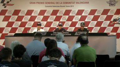 Moto3™ Valencia pre-event press conference