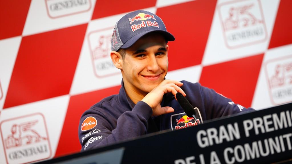 Luis Salom, Gran Premio Generali de la Comunitat Valenciana Press COnference