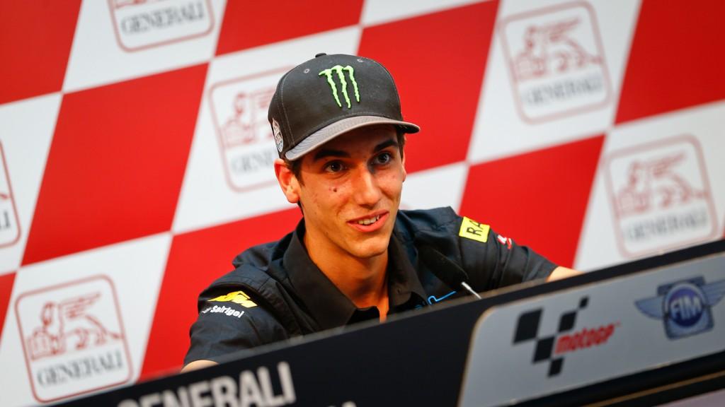 Alex Rins, Gran Premio Generali de la Comunitat Valenciana Press Conference