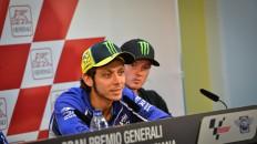 Valentino Rossi, Gran Premio Generali de la Comunitat Valenciana Press Conference