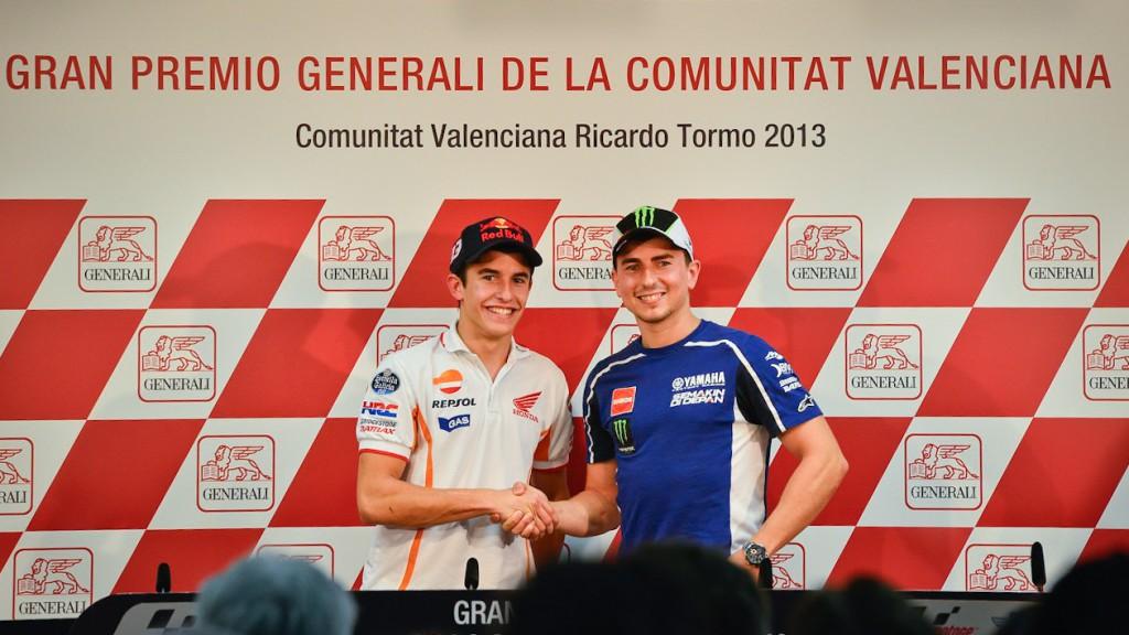 Marquez, Lorenzo, Gran Premio Generali de la Comunitat Valenciana Press Conference