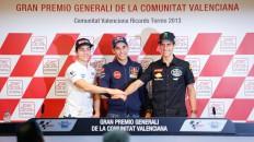 Viñales, Salom, Rins, Gran Premio Generali de la Comunitat Valenciana