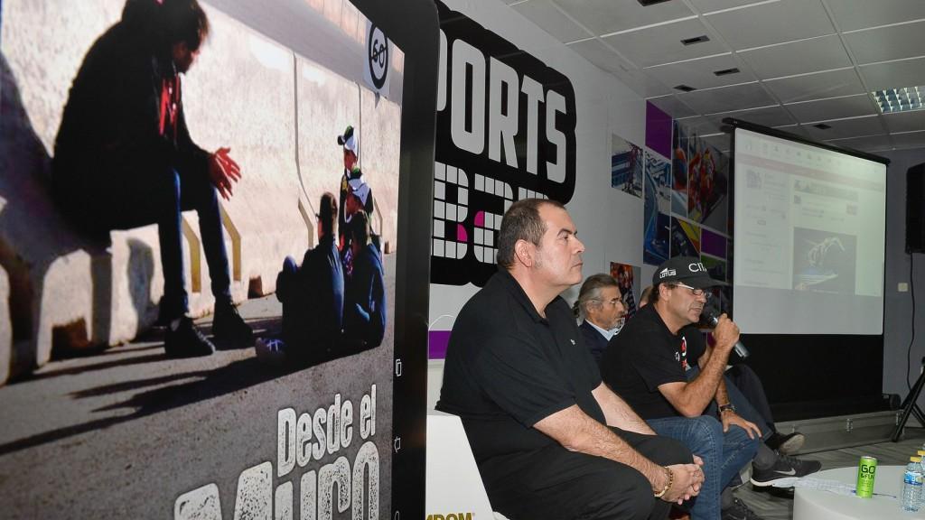 Dani Amatriain´s book presentation, Desde el Muro