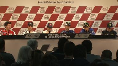Gran Premio Generali de la Comunitat Valenciana: Pre-event Press Conference