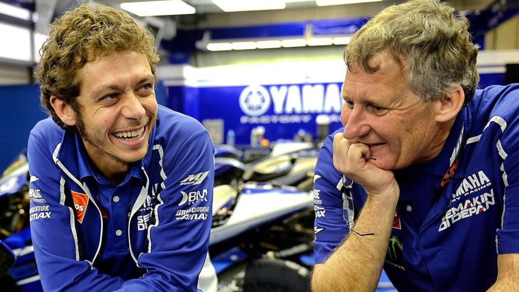 Valentino Rossi, Jeremy Burgess
