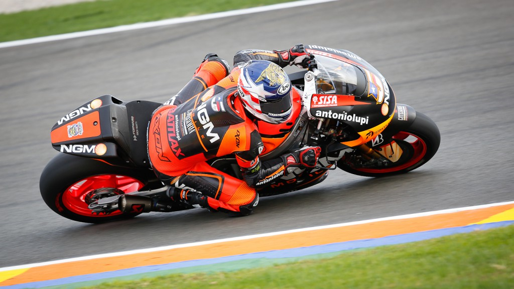 Colin Edwards, NGM Mobile FOrward Racing, Valencia FP2