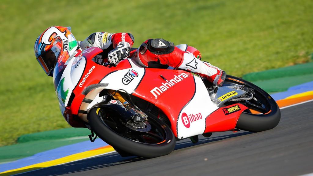 Efren Vazquez, Mahindra Racing, Valencia FP2