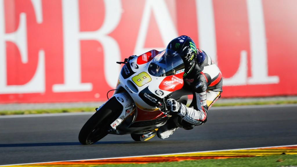 Jack Miller, Caretta Technology - RTG, Valencia FP2