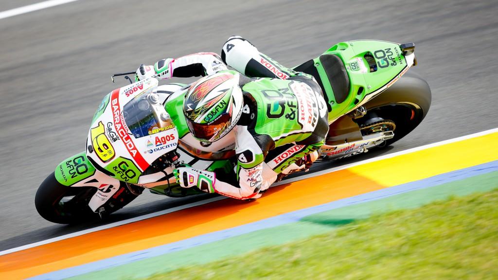Alvaro Bautista, GO&FUN Honda Gresini, Valencia FP2