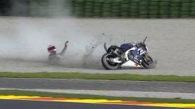 Valencia 2013 - MotoGP - FP2 - Action - Aleix Espargaro - crash