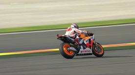 Valencia 2013 - MotoGP - FP2 - Action - Marc Marquez