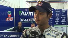 Valencia 2013 - MotoGP - FP2 - Interview - Hiroshi Aoyama