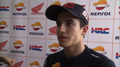 Marquez pleased but knows improvements possible