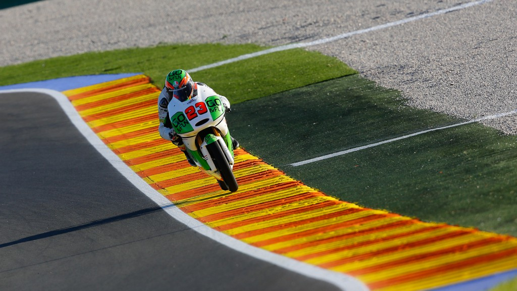 Niccolò Antonelli, GO&FUN Gresini Moto3, Valencia FP2