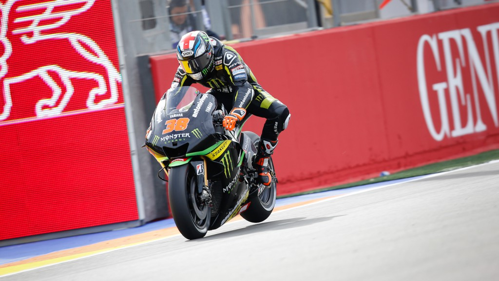 Bradley Smith, Monster Yamaha Tech 3, Valencia FP2