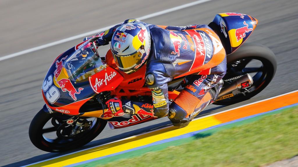 Luis Salom, Red Bull KTM Ajo, Valencia FP1