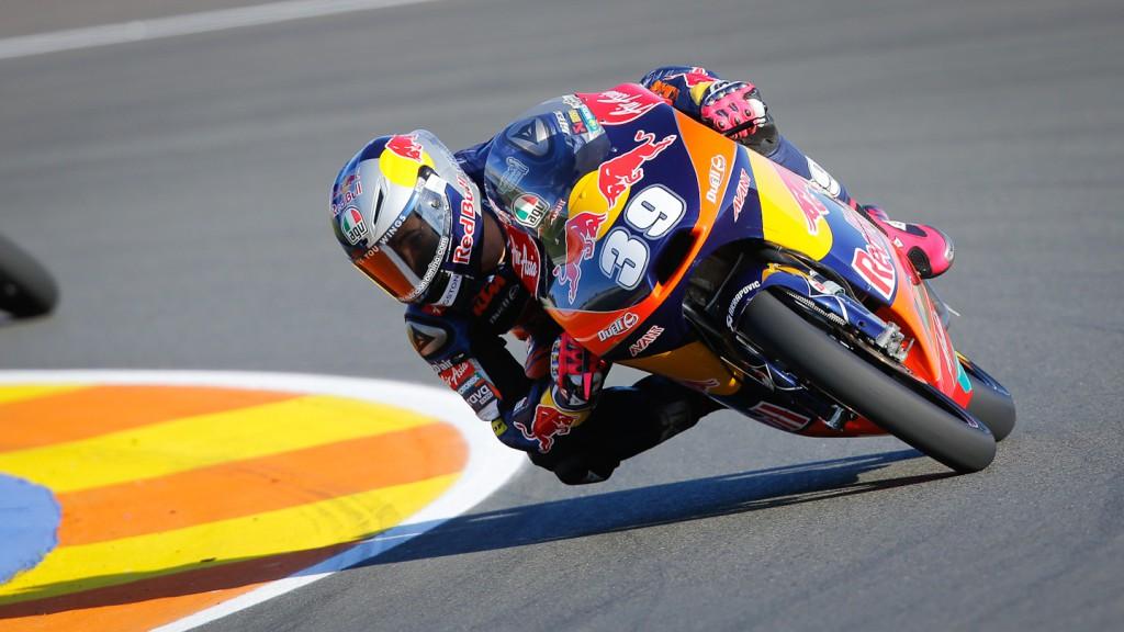 Luis Salom, Red Bull KTM Ajo, Valencia FP2
