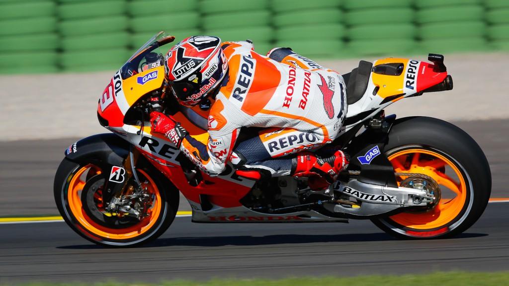 Marc Marquez, Repsol Honda Team, Valencia FP2