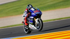 Jorge Lorenzo, Yamaha Factory Racing, Valencia FP2