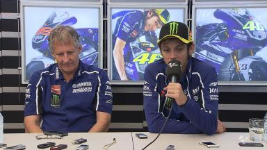 News: Rossi and Burgess talk of split