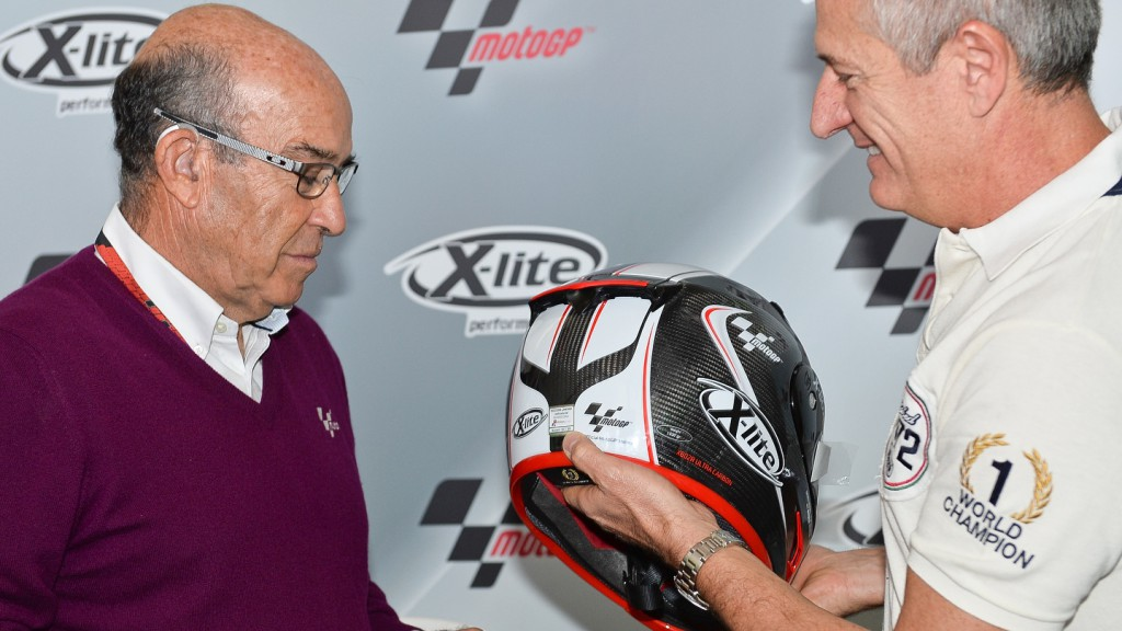 X-Lite 802R ULTRACARBON MotoGP Limited Edition presentation