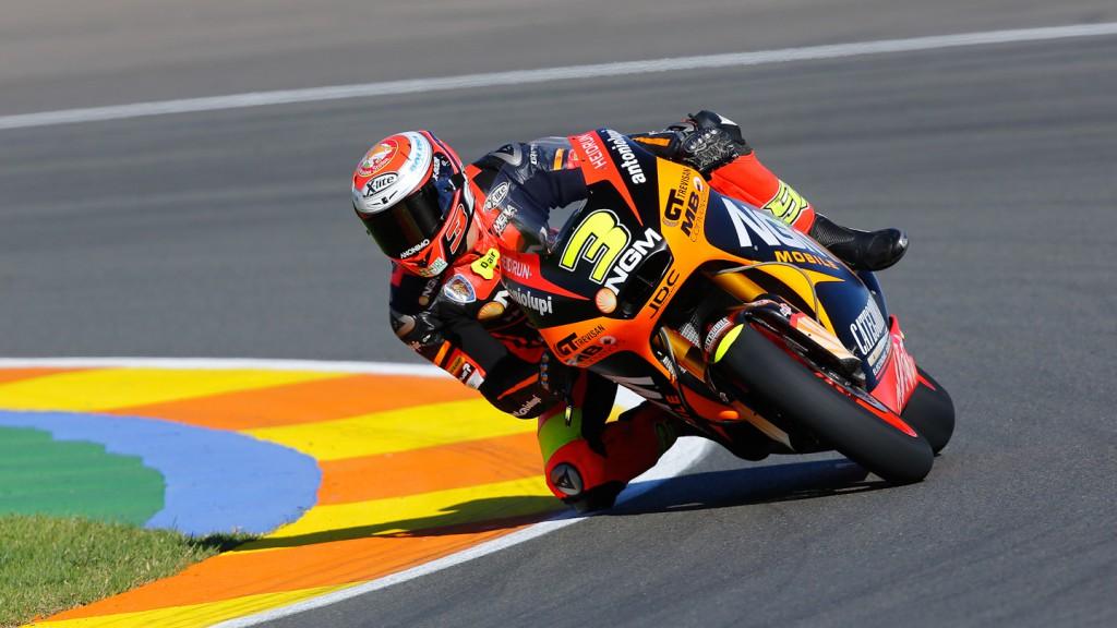 Simone Corsi, NGM Mobile Racing, Valencia QP