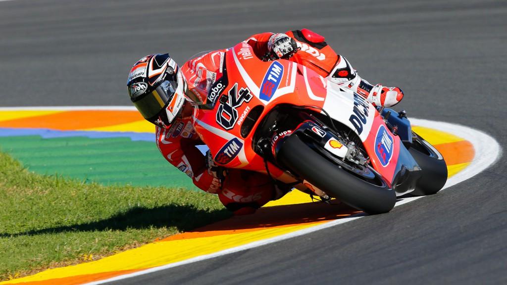 Andrea Dovizioso, Ducati Team, Valencia Q2