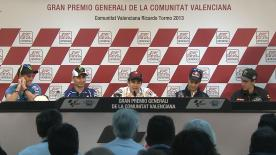 Gran Premio Generali de la Comunitat Valenciana: Post-Qualifying press conference
