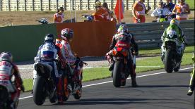 Valencia 2013 - MotoGP - FP1 - Action - Jorge Lorenzo - Marc Marquez -