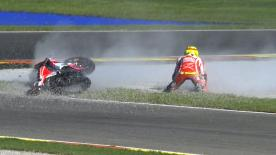 Valencia 2013 - MotoGP - Q1 - Action - Nicky Hayden - crash