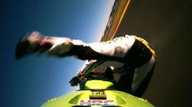 Valencia 2013 - MotoGP - Q2 - Action - Alvaro Bautista - crash