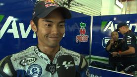 Valencia 2013 - MotoGP - Q1 - Interview - Hiroshi Aoyama