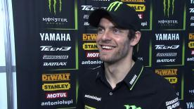 Crutchlow reveals 'funny plan' for Valencia race