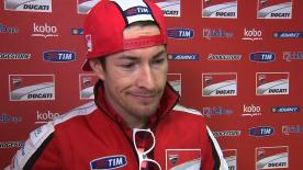 Hayden extracts positives from final Ducati qualifying